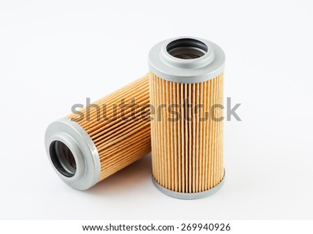 The air filter for the car - stock photo