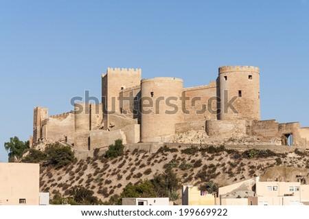 The Alcazaba - stock photo
