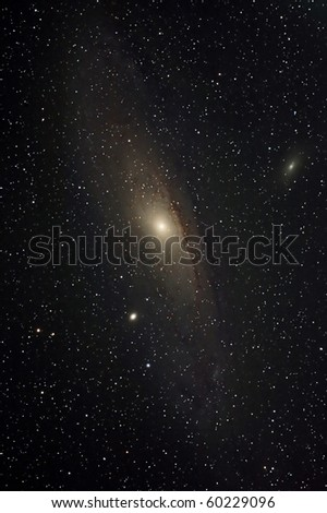 The Andromeda Galaxy - stock photo