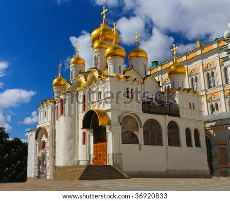 The Annunciation Cathedral (Moscow Kremlin, Russia)