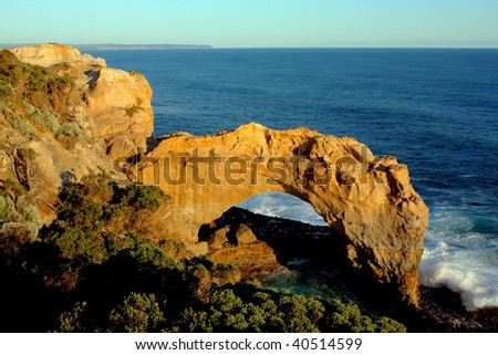 The Arch on Great Ocean Road, Victoria, Australia - stock photo