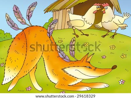 Chicken Coop Stock Illustrations, Images & Vectors | Shutterstock