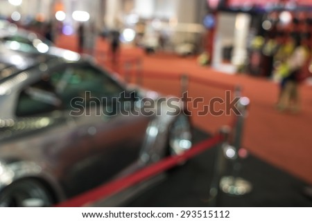 The atmosphere in Motor Show