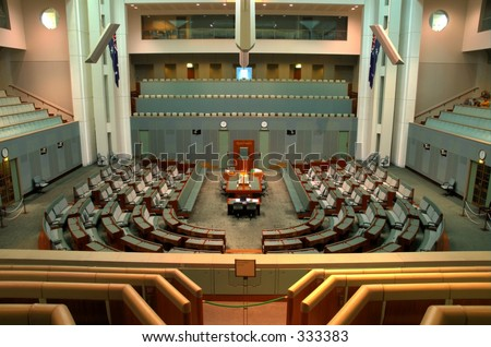 The Australian House of Representatives
