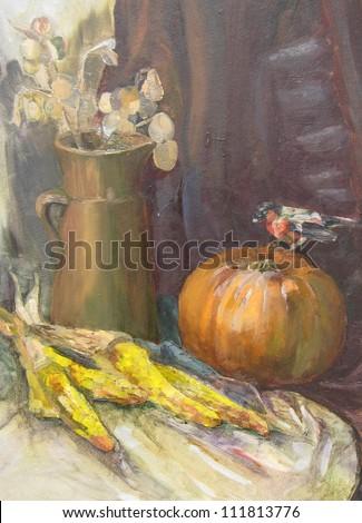 The autumn - stock photo
