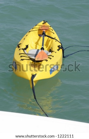 the back-up boat - stock photo