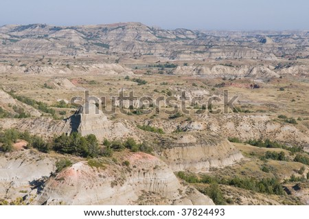 The Badlands, Theodore Roosevelt National Park, Medora, North Dakota