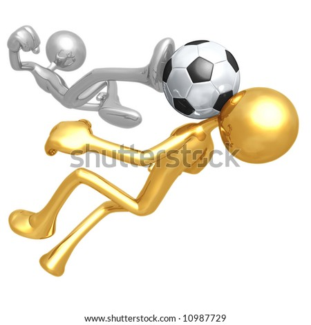The Beautiful Game - stock photo