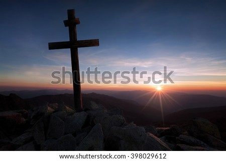 The Beauty of Christianity - stock photo