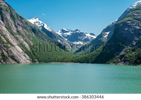 The Beauty of North America | Alaska: Tracy Arm Fjords is one of the most beautiful places in Alaska, United States.