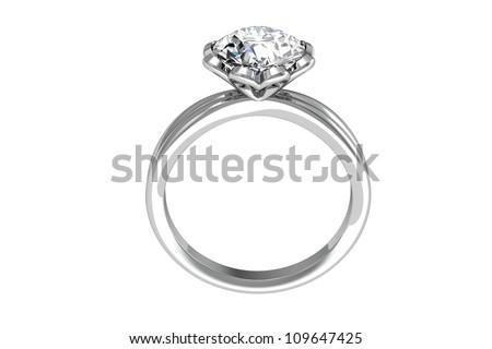 Beauty Wedding Ring Stock Illustration 109647425 Shutterstock