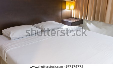 The bed  my room,Beautiful and modern home and hotel bedroom,Bed in a hotel room at night,modern double bedroom with hard wood furniture,Interior Design: Modern Bedroom,stylish bedroom interior design