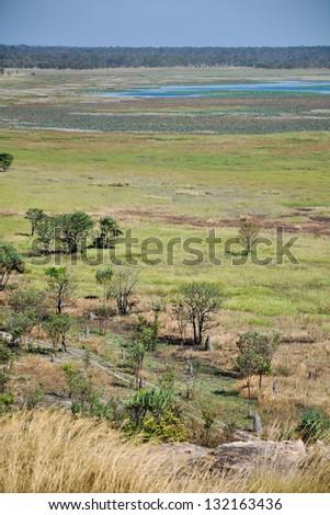 the beginning of the dry season in northern Australia - stock photo
