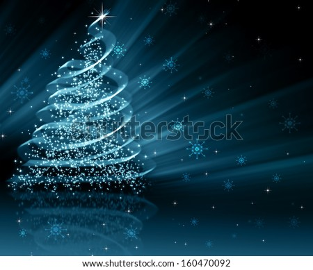 The best Christmas tree - stock photo