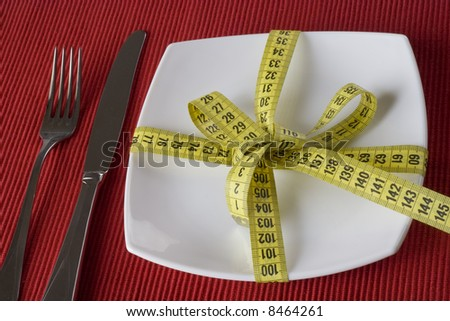 The best gift you can give to yourself, is a healthy eating - stock photo