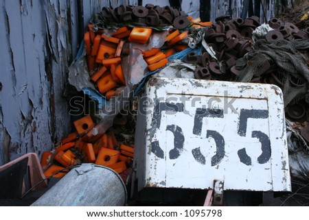 THE BIG NUMBER - stock photo