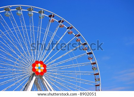 The big wheel from Prater, Vienna