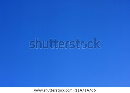 The Blue Sky. - stock photo