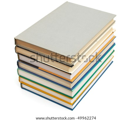 the book file isolated - stock photo