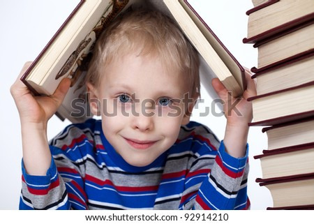 the boy in the book world