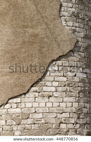 Crumbling Plaster RF Shutterstock