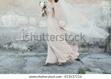 Wind Blown Dress Stock Images Royalty Free Images