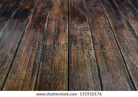 The brown wood texture - stock photo