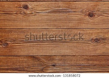 The brown wood texture with natural patterns. - stock photo