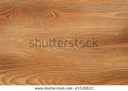 the brown wooden texture on the floor - stock photo