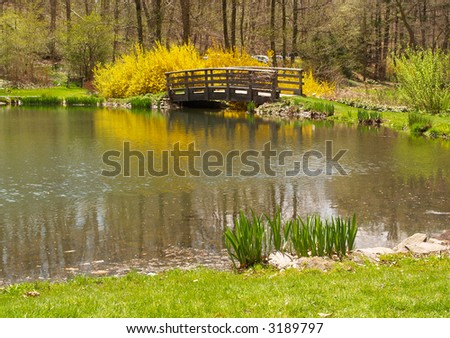 The Buck Garden in New Jersey - stock photo