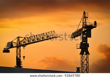The building construction - stock photo