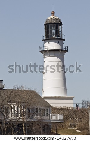 Ancient lighthouse ruined structure stock photo 143763487 for What state has the most lighthouses