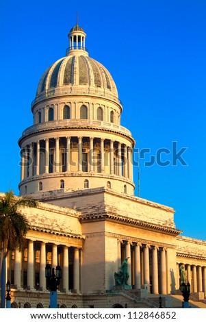 The Capitol building,  Havana - stock photo