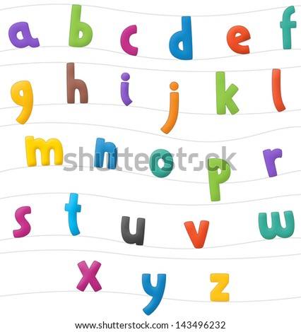 The cartoon alphabet - for the children