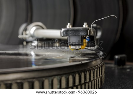 the cartridge is ready to start producing music from vinyl record