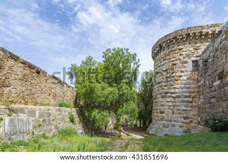 The Castle of Bodrum, Turkey - stock photo