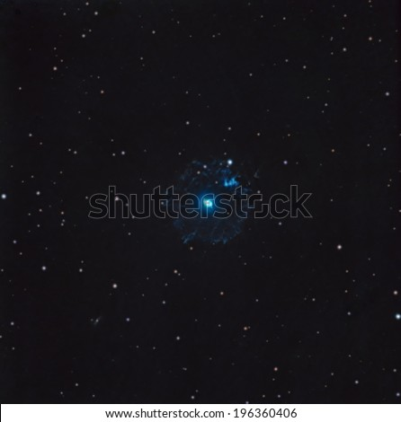 The Cat's Eye Nebula - stock photo