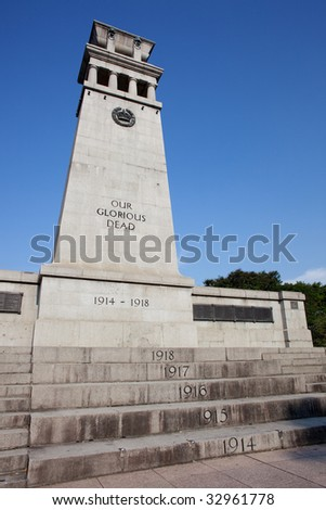 The Cenotaph is a war memorial in Singapore that commemorates the men who perished during World Wars. It was unveiled on  1922 by Prince Edward of Wales.