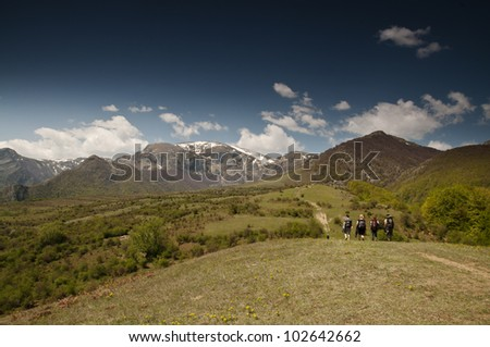 The Central Balkan - National Park in Bulgaria - stock photo