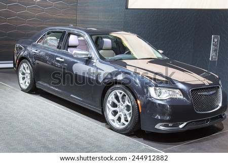 The 2015 Chrysler 300 at The North American International Auto Show January 13, 2015 in Detroit, Michigan.