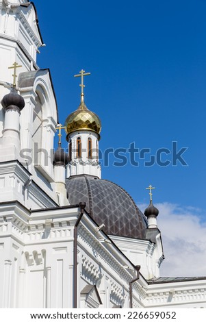 The church of Archangel Michael, Sochi, Russia - stock photo