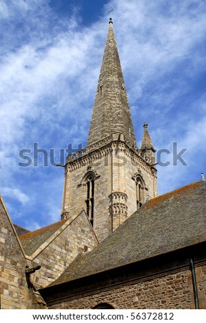 The Church of Saint Malo - stock photo