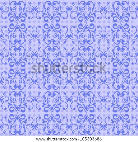 The classic pattern - stock photo