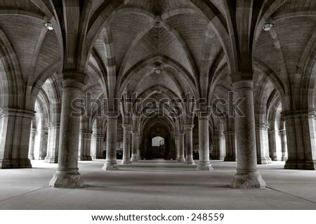 The Cloisters - stock photo
