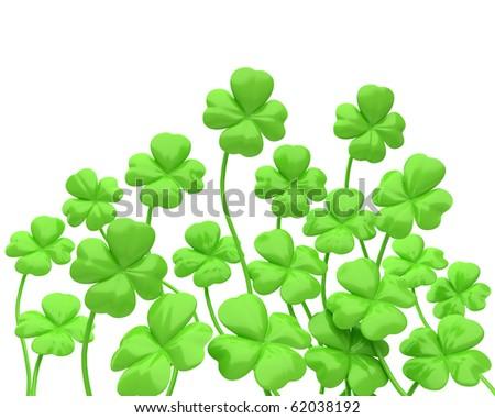 the clover - stock photo