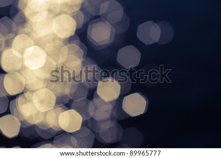 the colored x-mas background: yellow and blue - stock photo