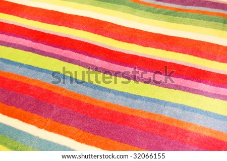 The colorful sheet