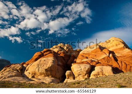 The Colors of Red Rock Canyon - stock photo