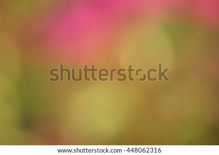 The colors of summer, spring and autumn - Bokeh texture - stock photo