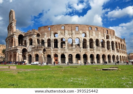 The Colosseum. Rome, Italy - stock photo